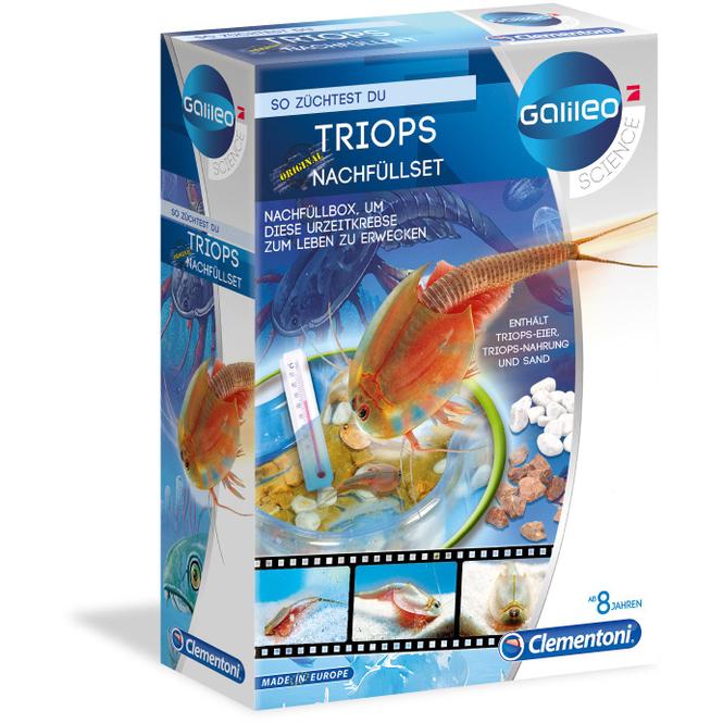 Galileo - Triops Nachfüllset - Clementoni