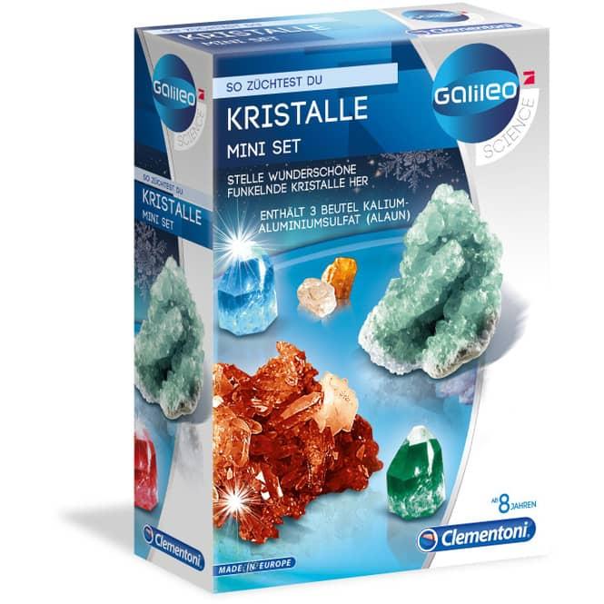 Galileo - Kristalle züchten - Mini Set - Clementoni