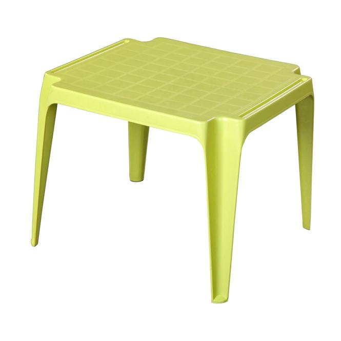 Kindertisch - limegrün