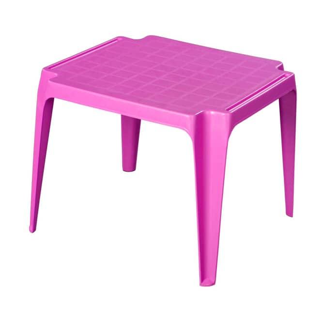 Kindertisch - pink