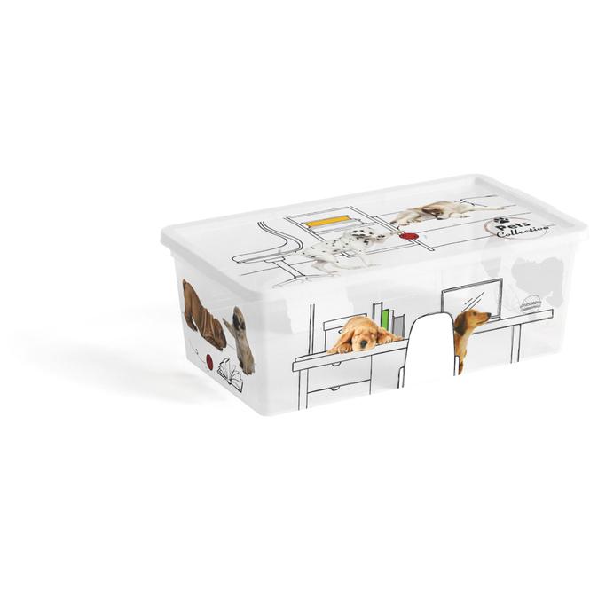 Aufbewahrungsbox - Tiermotiv - 6L