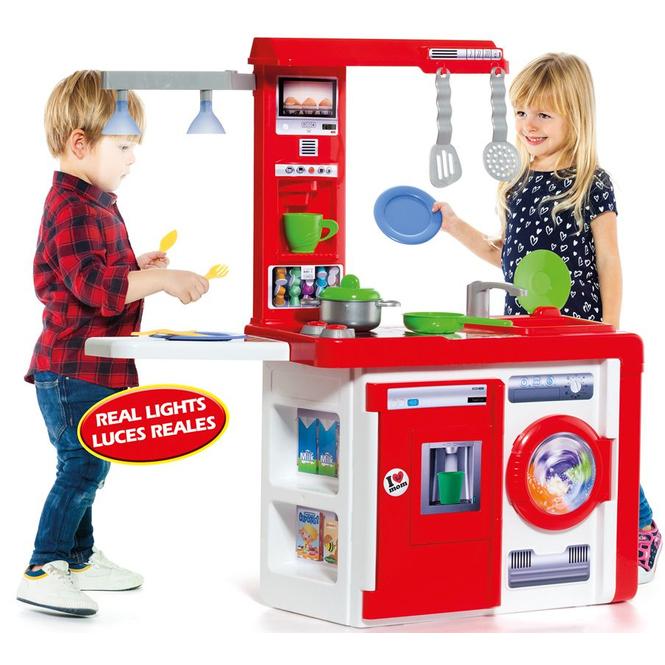 Spielküche - inkl. 12-tlg. Kochzubehör