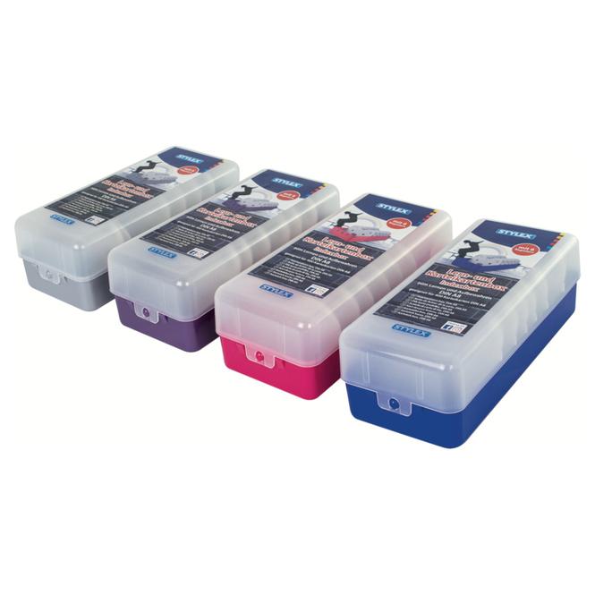Lern- und Karteikartenbox - DIN A8 - 1 Stück