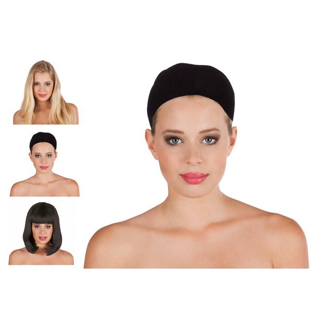 Haarnetz, Einheitsgröße schwarz