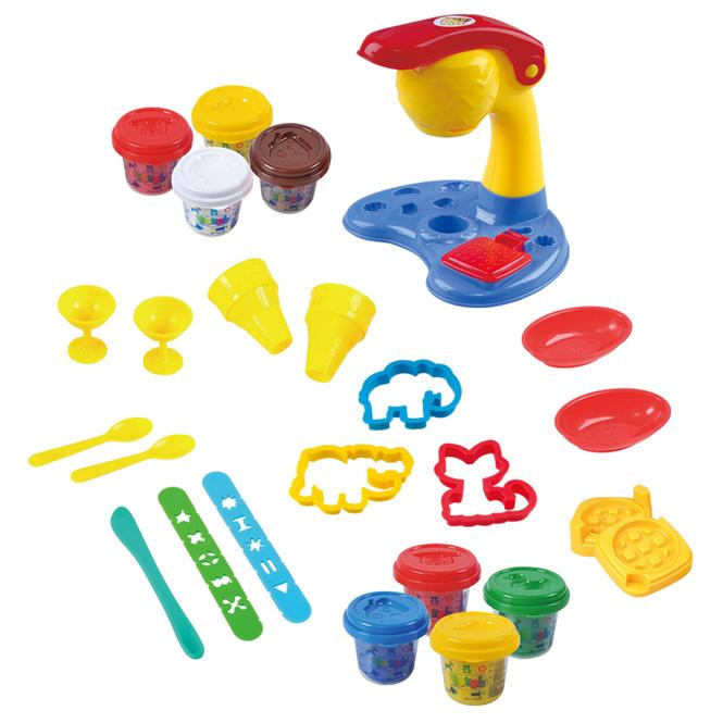 Knetspiel - Eisbar - Bonuspack von Playgo