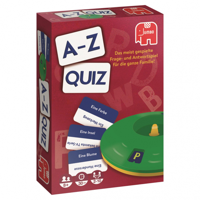 A-Z Quiz Original - Jumbo