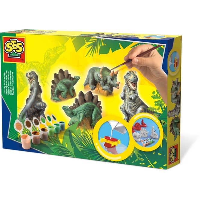 Creativ Gießset - Dinosaurier