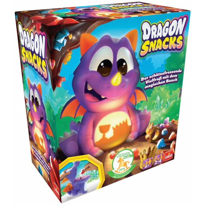 Dragon Snacks - Goliath - Kinderspiel