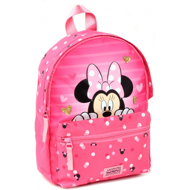 Minnie Mouse - Kinder-Rucksack - pink/gold