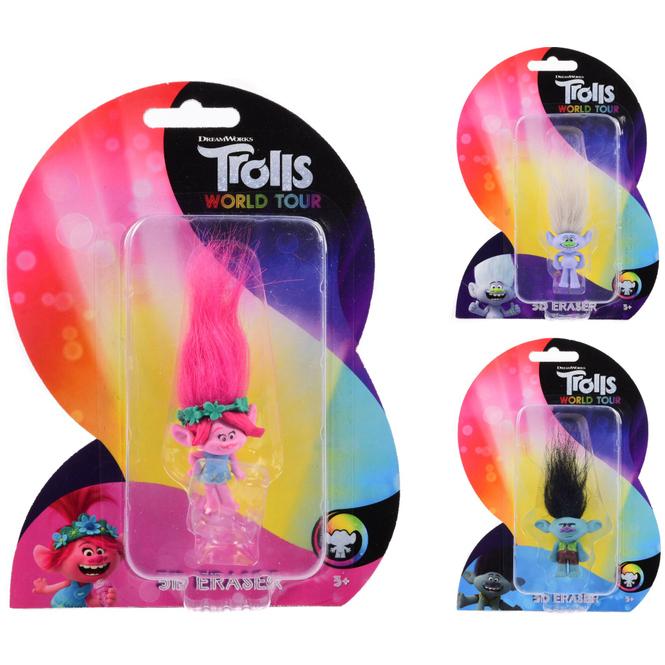 Trolls 2 - World Tour - 3D Radierer - 1 Stück