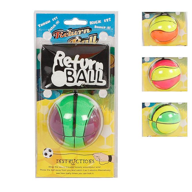 Return Ball neon - Ø ca. 6 cm - Verschiedene Ausführungen
