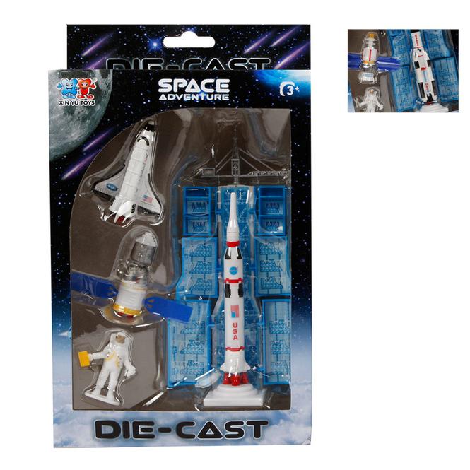 Space Shuttle Spielset - ca. 12 cm - Verschiedene Modelle