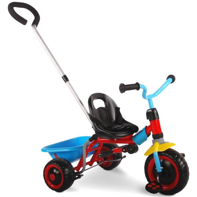 Dreirad - Luxus - rot-blau