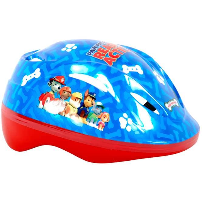 Paw Patrol - Kinder Fahrradhelm - blau/rot