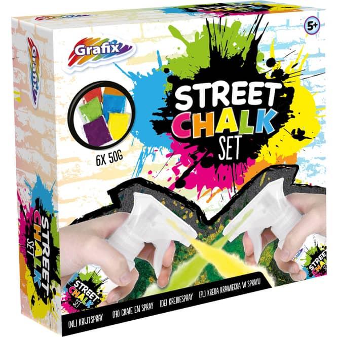 Grafix - Straßenmalkreide Spray Set