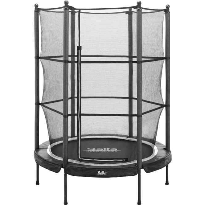 Salta - Junior Trampolin mit Netz - Durchmesser: 140 cm - in schwarz