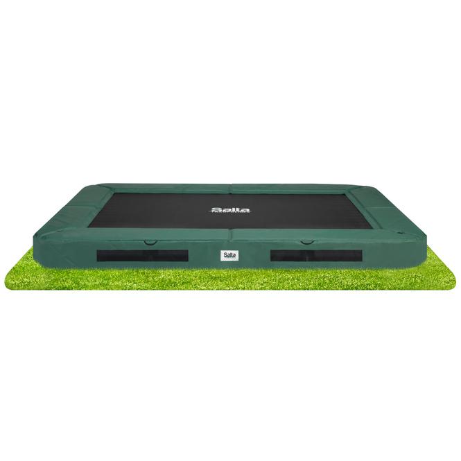 Salta - Bodentrampolin - Premium Ground - 366 x 244 cm - grün
