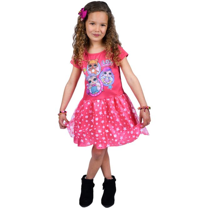 L.O.L. Surprise - Kleid pink - Größe 98/104 98/104