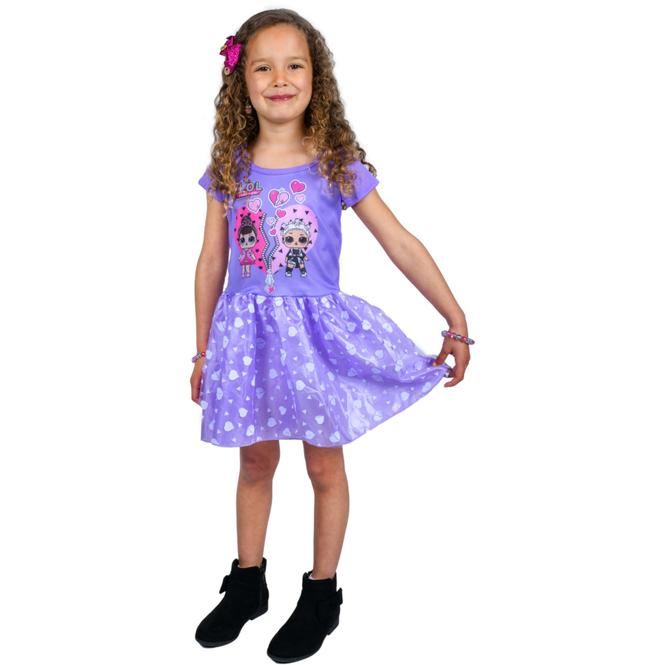 L.O.L. Surprise - Kleid lila - verschiedene Größen