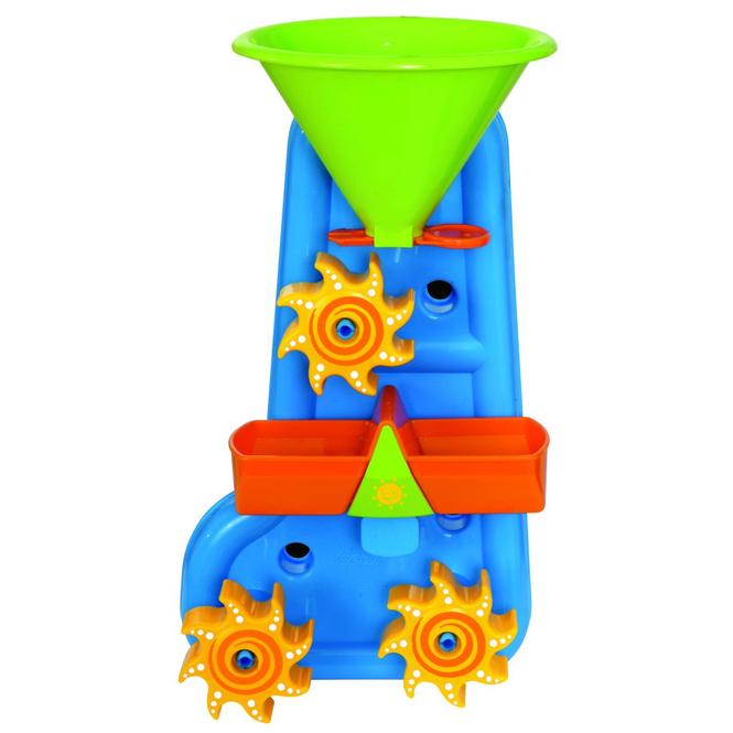 Badewannen-Wassermühle - 20 x 13 x 37 cm- blau