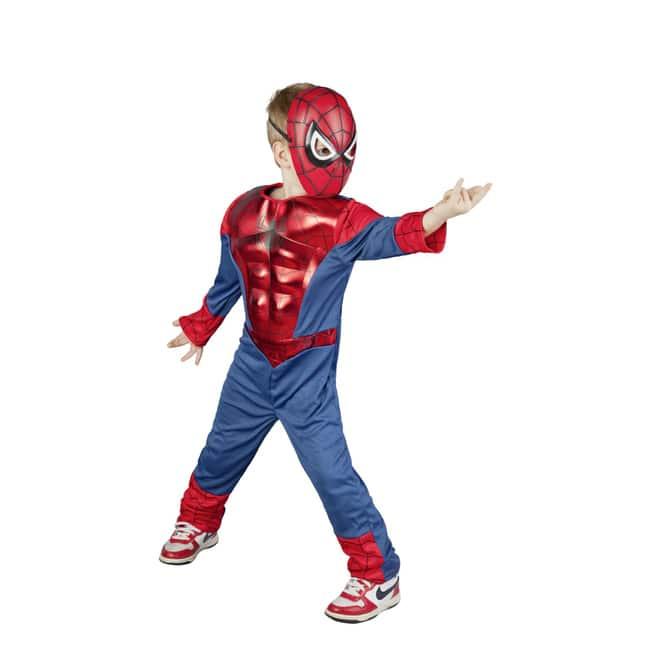 Ultimative Spiderman Kostüm - Muscle Chest - für Kinder - 2-teilig - verschiedene Größen