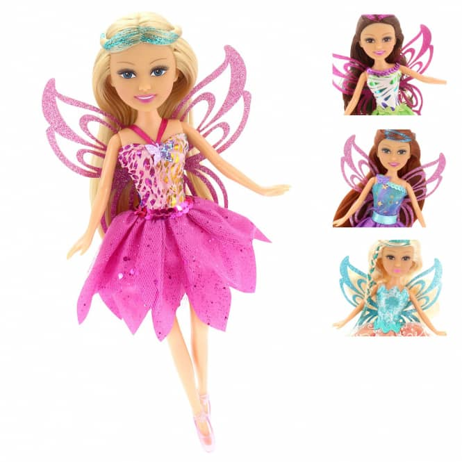 Modepuppe Sparkle Girlz - Super Sparkly Fairy - 1 Puppe