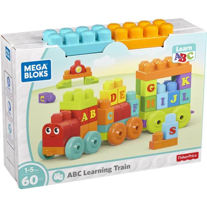 Mega Bloks - ABC Lernzug - 60 Teile