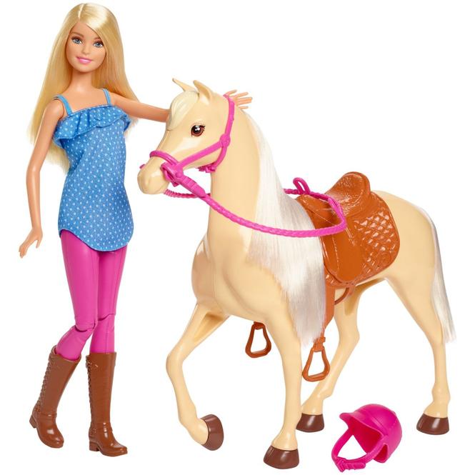 Barbie - Puppe und Pferd