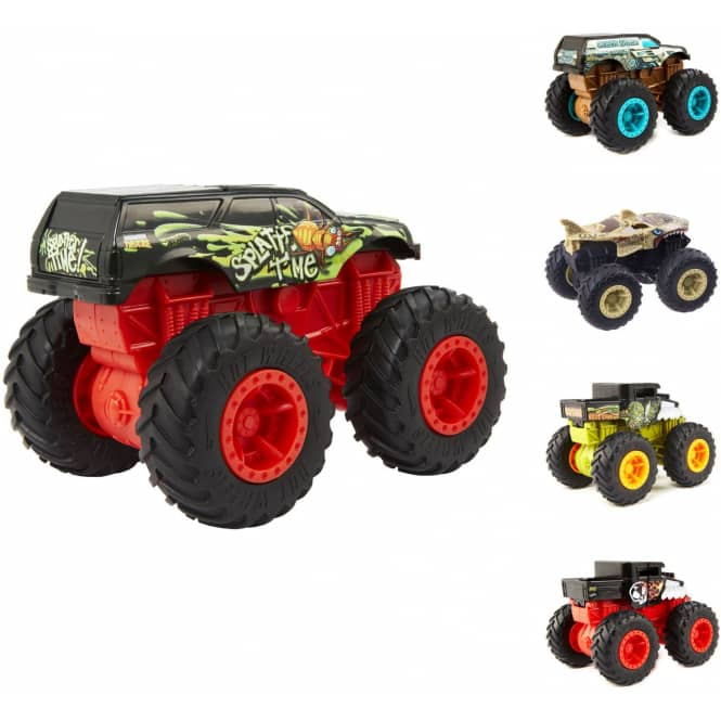 Hot Wheels - Monster Trucks - Bash Ups - 1 Stück