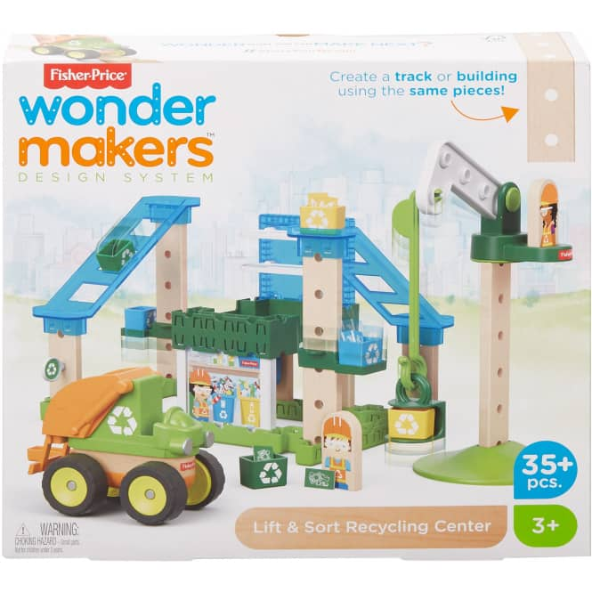 Fisher Price - Wunder Werker - Recycling Center