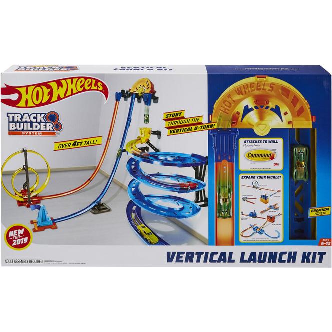 Hot Wheels - Track Builder Senkrechtstarter Stunt-Set