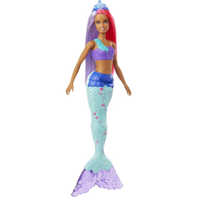 Barbie Dreamtopia - Meerjungfrau mit pink-und lilafarbenem Haar - 1 Stück