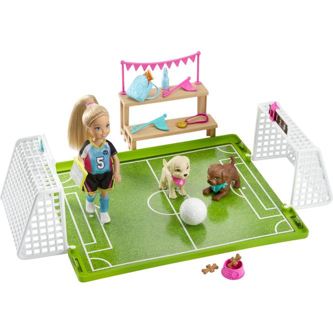Barbie - Fußballerin Chelsea - Spielset mit Puppe