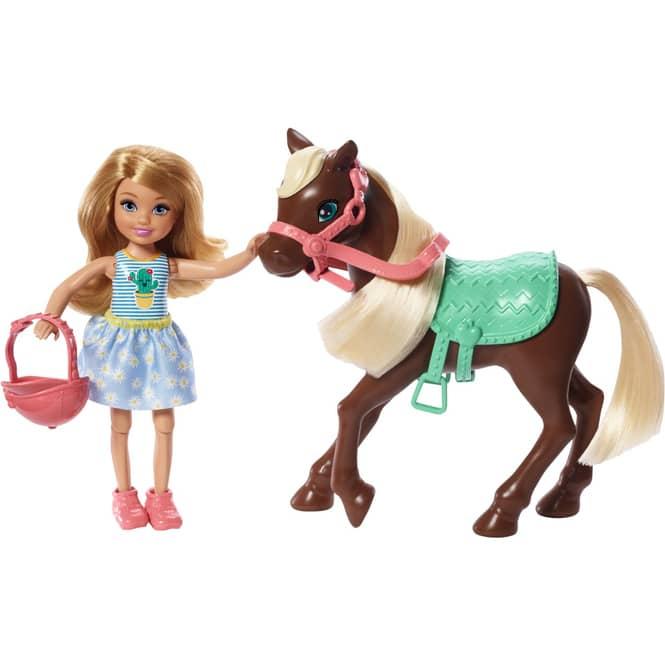 Barbie - Chelsea und Pony