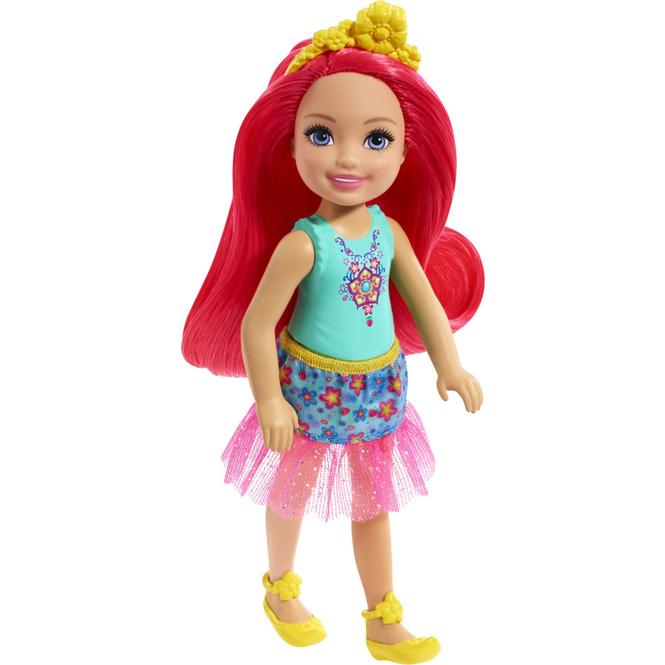 Barbie Dreamtopia - Chelsea und Freunde - Feenpuppe - 1 Stück - rote Haare