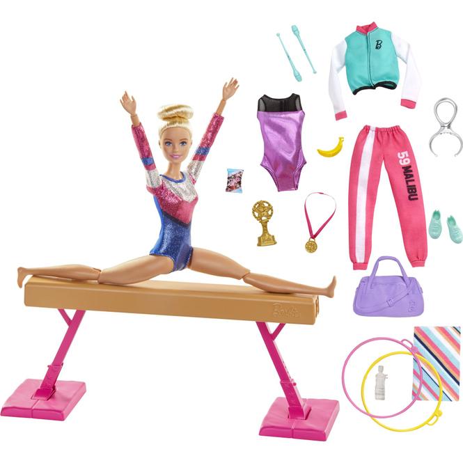 Barbie - Du kannst alles sein - Turnerin mit verschiedenen Outfits und Accessoires