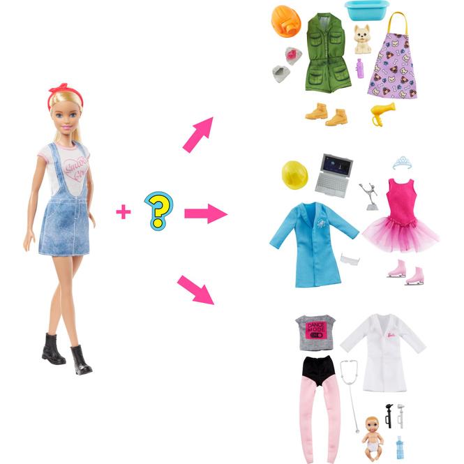 Barbie - Du kannst alles sein - Lass dich überraschen in welchen Beruf Barbie schlüpft