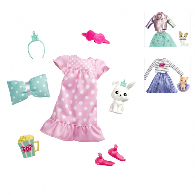 Barbie - Prinzessinnen Abenteuer - Fashion & Haustier - 1 Stück