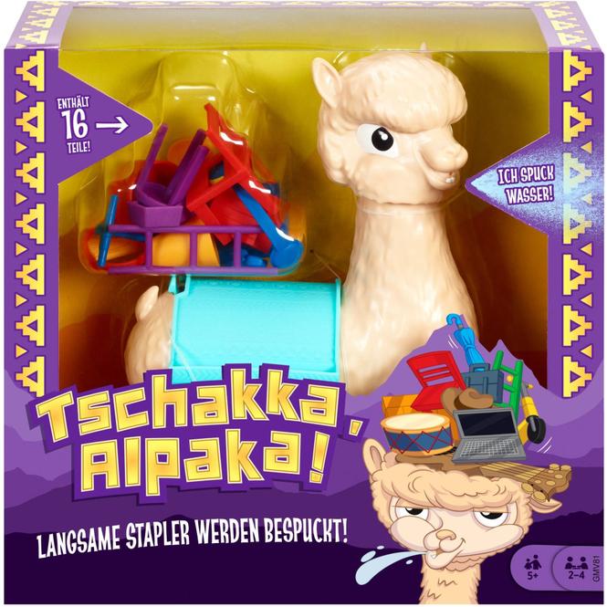 Tschakka, Alpaka! - Mattel