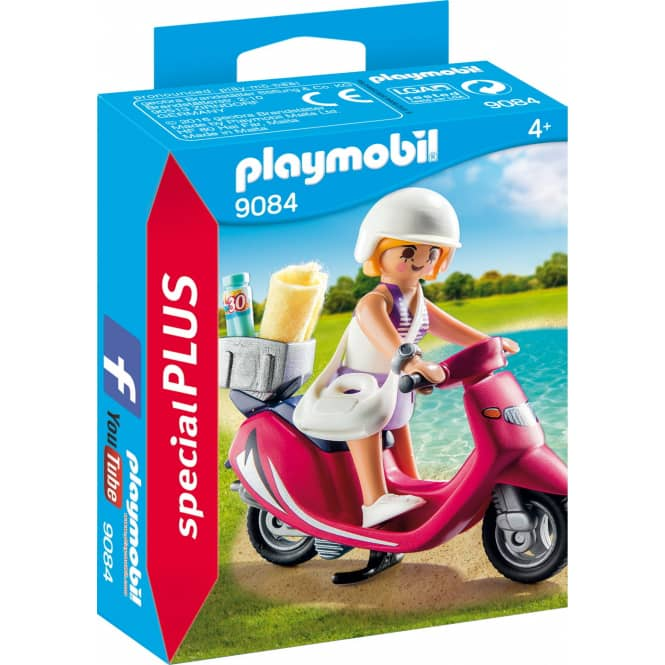 PLAYMOBIL® 9084 - Strand-Girl mit Roller - Playmobil Special Plus