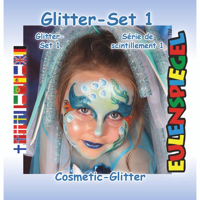 Schminkset - Glitter - Make-Up mit Zubehör