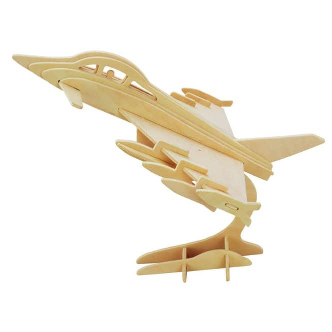 Besttoy - Holz-Modellbau - Flugzeug - Eurofighter