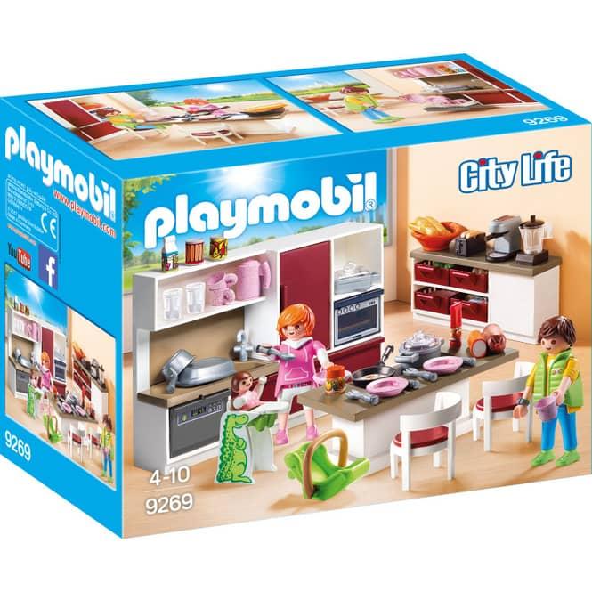 PLAYMOBIL® 9269 - Große Familienküche - Playmobil City Life