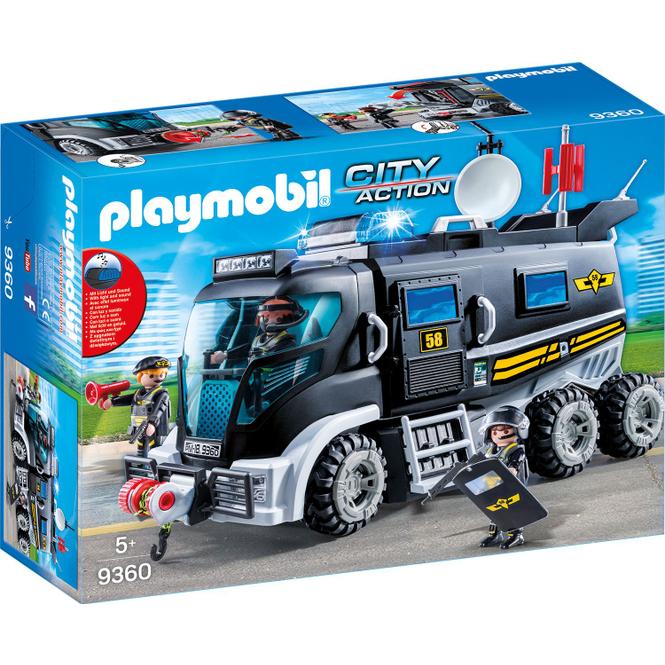 PLAYMOBIL® 9360 - SEK-Truck mit Licht und Sound - Playmobil City Action