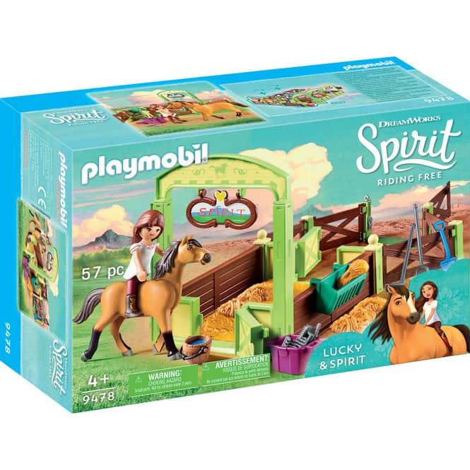 PLAYMOBIL® 9478 - Pferdebox Lucky & Spirit - Playmobil Spirit