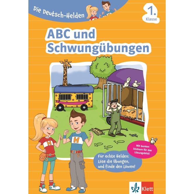 ABC und Schwungübungen - Die Deutsch-Helden - 1.Klasse