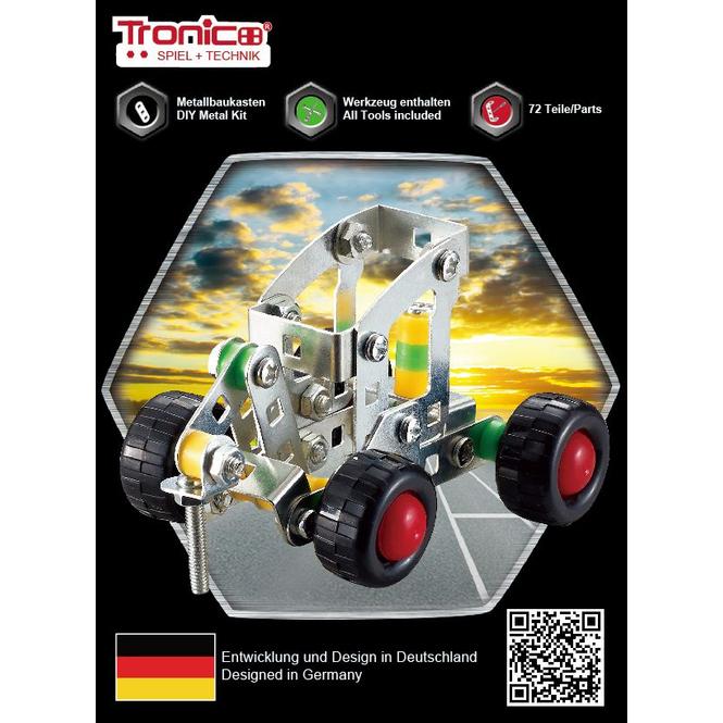 Metallbau-Set - 44-75 Teile - inkl. Werkzeug - 1 Set