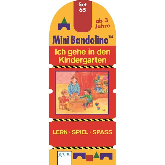 Mini Bandolino Set 65 - Ich gehe in den Kindergarten