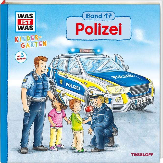 WAS IST WAS Kindergarten - Polizei - Band 17