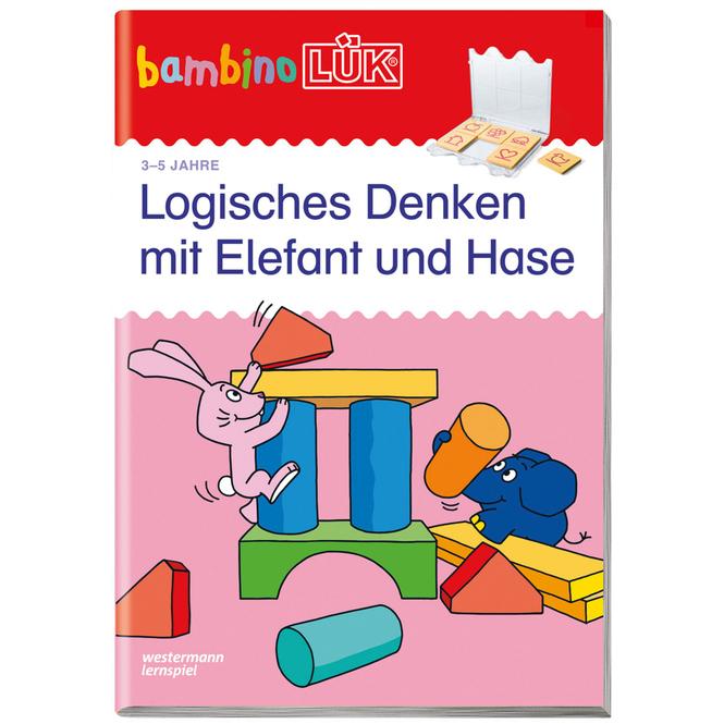 bambinoLÜK - Logisches Denken mit Elefant und Hase